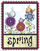 Spring Birds Fine Art Print