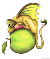 Golden Delicious-Dragon by Jennifer Nilsson - various sizes