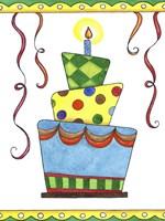 Birthday Cake 1 Fine Art Print