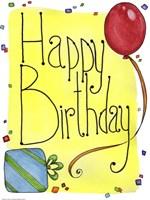 Happy Birthday by Jennifer Nilsson - various sizes