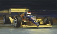 Yellow Race Car by William Vanderdasson - various sizes