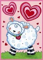 Valentine Lamb by Jennifer Nilsson - various sizes