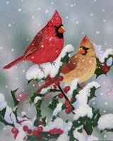 Winter Companions Fine Art Print