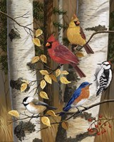 Autumn Friends by William Vanderdasson - various sizes