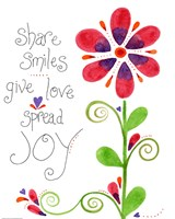 Spread Joy Fine Art Print