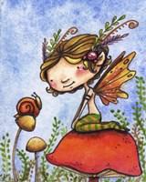 Snail Tales Fine Art Print