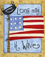 Long May it Wave Fine Art Print
