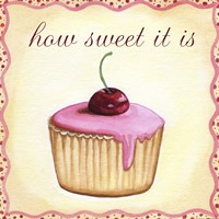 Cherry Cupcake by Jennifer Nilsson - various sizes