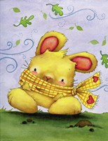 Blustery Bunny by Jennifer Nilsson - various sizes