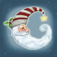 Santa Moon Fine Art Print