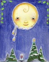 Holiday Moon by Jennifer Nilsson - various sizes