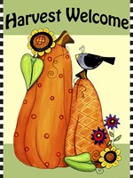 Harvest Welcome by Jennifer Nilsson - various sizes