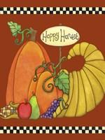 Happy Harvest Cornucopia by Jennifer Nilsson - various sizes