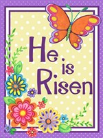He Is Risen Butterfly Fine Art Print
