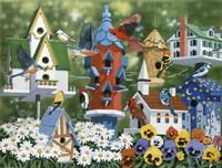 Birdhouses by William Vanderdasson - various sizes