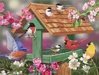 Feathers and Flowers by William Vanderdasson - various sizes