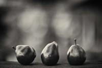 Three Red Pears on the Precipice Fine Art Print