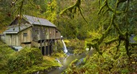 Cedar Creek Grist Mill Fine Art Print