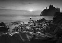 Sunset At Ruby Beach by Moises Levy - various sizes