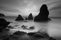 Rodeo Beach I, Black and White by Moises Levy - various sizes