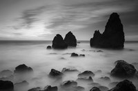 Rodeo Beach II, Black and White by Moises Levy - various sizes
