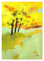 Autumn Trio Fine Art Print
