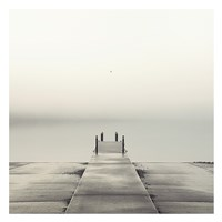 Pier and Seagull Fine Art Print