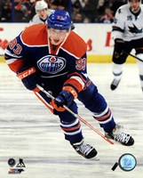 "Ryan Nugent-Hopkins on ice 2013-14 - 8"" x 10"""