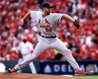 Adam Wainwright 2014 Framed Print