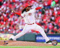 Johnny Cueto Baseball Pitching Fine Art Print
