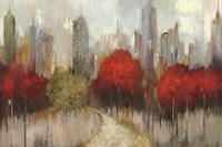 Downtown Red Fine Art Print