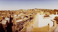 Rooftop view of buildings in a city, India by Panoramic Images - various sizes