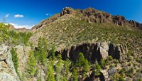 Panorama of Dome Wilderness, San Miguel Mountains, Santa Fe National Forest, New Mexico, USA by Panoramic Images - various sizes