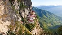 Monastery on mountain, Taktsang Monastery, Paro Valley, Paro District, Bhutan by Panoramic Images - various sizes