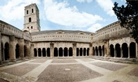 Cloister of St. Trophime, Church Of St. Trophime, Arles, Bouches-Du-Rhone, Provence-Alpes-Cote d'Azur, France by Panoramic Images - various sizes
