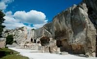 Ruins of a fortress, Les Baux-de-Provence, Bouches-Du-Rhone, Provence-Alpes-Cote d'Azur, France by Panoramic Images - various sizes