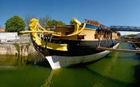 Replica of the Count of La Fayette ship, Rochefort, Charente-Maritime, Poitou-Charentes, France by Panoramic Images - various sizes
