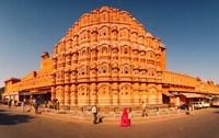 Hawa Mahal at Jaipur, Rajasthan, India by Panoramic Images - various sizes