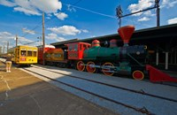 Chattanooga Choo Choo at the Creative Discovery Museum, Chattanooga, Tennessee, USA by Panoramic Images - various sizes