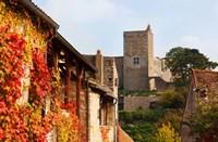 Castle on a hill, Brancion, Maconnais, Saone-et-Loire, Burgundy, France by Panoramic Images - various sizes