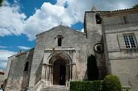Facade of a church, Eglise Saint-Vincent, Les Baux-De-Provence, Bouches-Du-Rhone, Provence-Alpes-Cote d'Azur, France by Panoramic Images - various sizes, FulcrumGallery.com brand