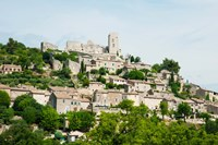 Buildings on a Hill, Bonnieux, Vaucluse, Provence-Alpes-Cote d'Azur, France by Panoramic Images - various sizes