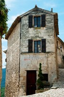 Former bakery, Lacoste, Vaucluse, Provence-Alpes-Cote d'Azur, France Fine Art Print