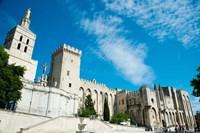 Cathedrale Notre-Dame des Doms d'Avignon, Palais des Papes, Avignon, Vaucluse, Provence-Alpes-Cote d'Azur, France by Panoramic Images - various sizes
