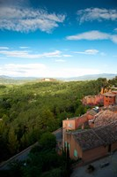 Buildings in a town, Roussillon, Vaucluse, Provence-Alpes-Cote d'Azur, France by Panoramic Images - various sizes