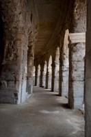 Columns of amphitheater, Arles Amphitheatre, Arles, Bouches-Du-Rhone, Provence-Alpes-Cote d'Azur, France by Panoramic Images - various sizes