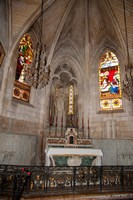 Interiors of the Church Of St. Trophime, Arles, Bouches-Du-Rhone, Provence-Alpes-Cote d'Azur, France by Panoramic Images - various sizes