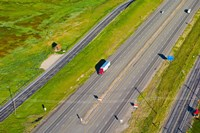 Traffic on highway, Interstate 80, Park City, Utah, USA by Panoramic Images - various sizes