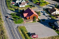 High angle view of buildings in a town, Park City, Utah, USA by Panoramic Images - various sizes, FulcrumGallery.com brand