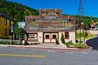 Facade of the High West Distillery Building, Park City, Utah, USA by Panoramic Images - various sizes